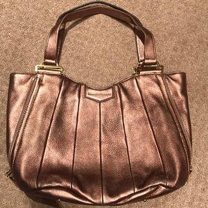 Aimee Kestenberg copper metallic satchel NWOT